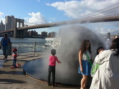 Comet Replica and Brooklyn Bridge