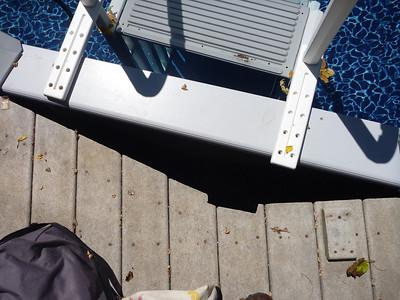 Pool deck move