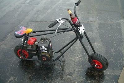 Skully the Vintage Minibike