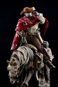 1:6 Action Figure - Blind Cowboy & Ghost Horse (ThreeA)