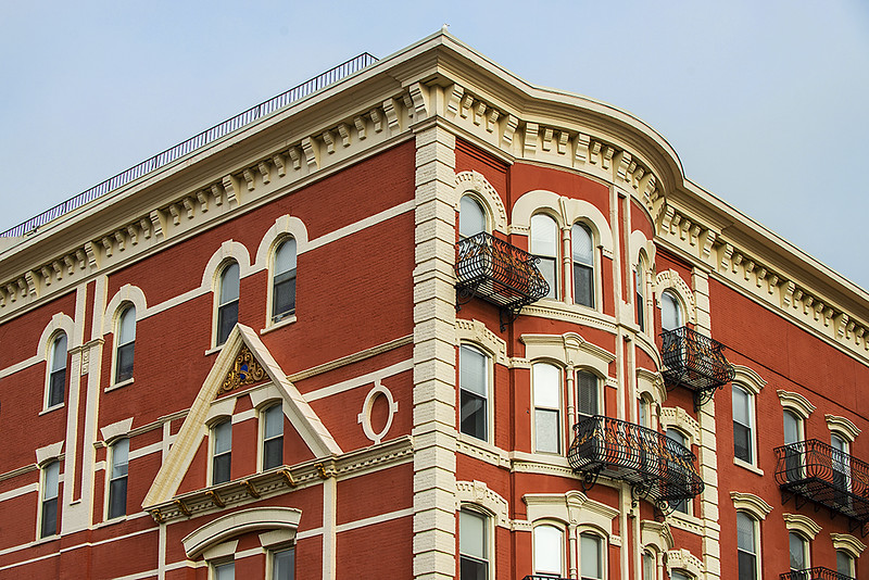 Building in Hoboken