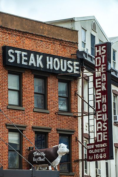 Holmestead Steak house meat packing district NYC