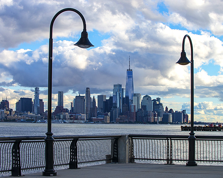 Downtown NYC from Hoboken