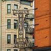 Hotel Victor sign Hoboken