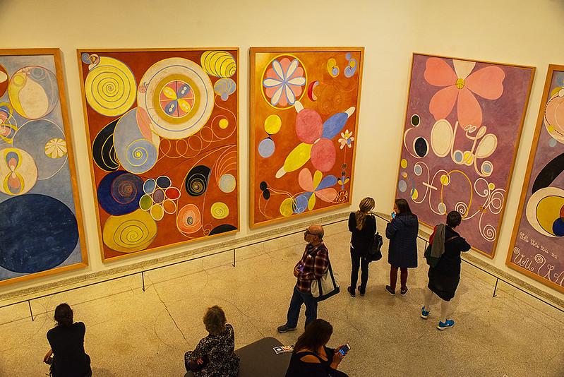 Guggenheim museum Hilma af Klint