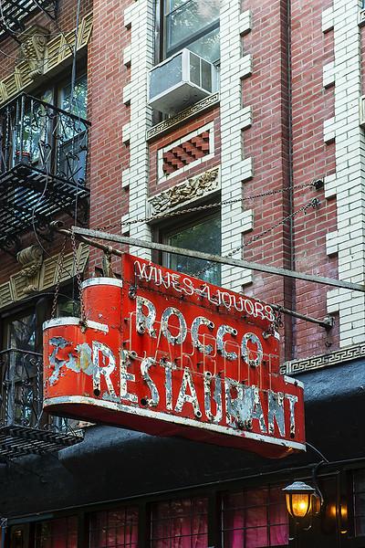 Old sign Manhattan