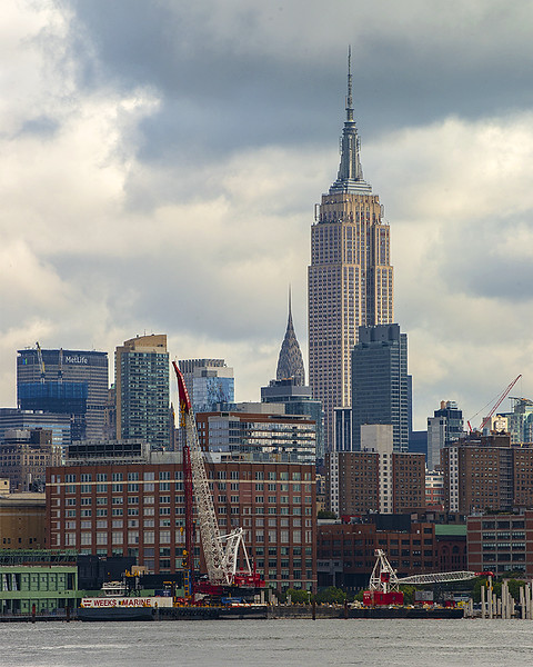 Empire State Building from Hoboken
