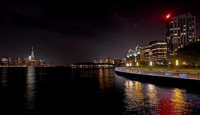 Ferry Terminal, WTC, W Hotel, Empire State Bldg, Pier C