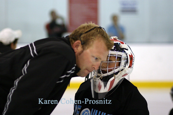 Brodeur Camp  Day Two  August 2007