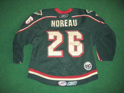 AHL Houston Aeros 2008/09 Maxim Noreau Green