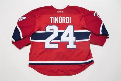 NHL Montreal Canadiens  2015/16 Jarred Tinordi Red PRESEASON