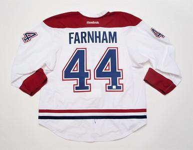 NHL Montreal Canadiens 2016/17 Bobby Farnham White PRESEASON