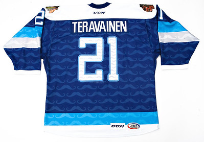 AHL Rockford Icehogs 2014/15 Teuvo Teravainen Movember PHOTOMATCHED