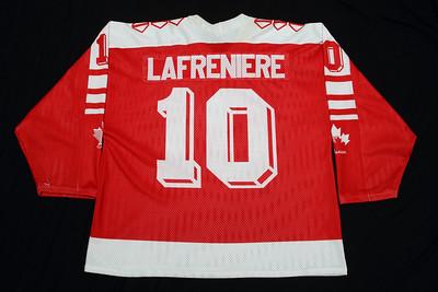 IIHF Canada 1990-92 Jason Lafreniere Red