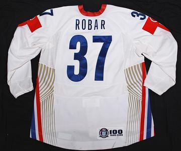 IIHF Slovenia 2008 WC Mitja Robar White PHOTOMATCHED