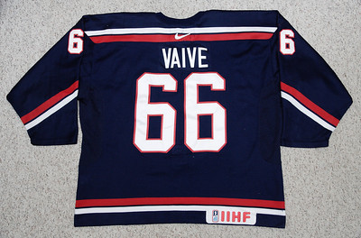 NAHL Team USA 2005/06 Justin Vaive Blue