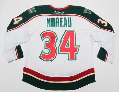 NHL Minnesota Wild 2010/11 Maxim Noreau White
