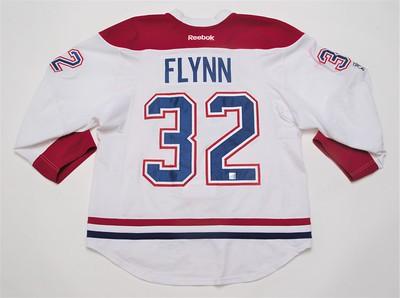 NHL Montreal Canadiens 2016/17 Brian Flynn Red 100 Yr Patch