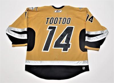 NHL Nashville Predators 2005/06 Jordin Tootoo Mustard