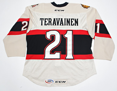 AHL Rockford Icehogs 2014/15 Teuvo Teravainen Alternate PHOTOMATCHED