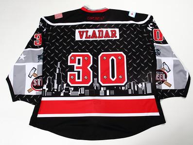 USHL Chicago Steel 2015/16 Daniel Vladar JCWC Black