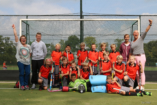 Hockey - Leusden JD4 2016-2017