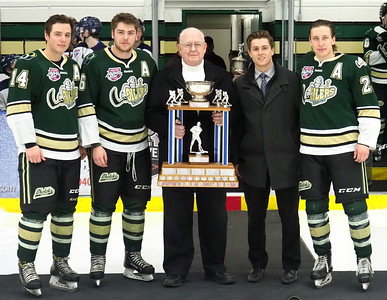 2017 -2018 AJHL, Dave Duchak Trophy Regular Season Champions