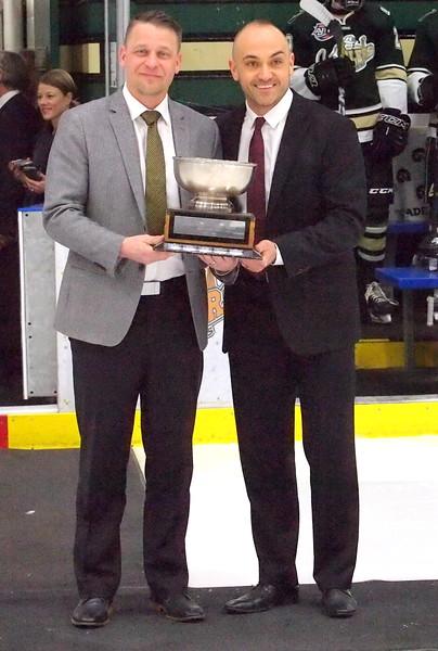 2017 - 2018 AJHL Coach of the Year , Tyler Deis