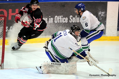 Calgary Canucks vs Camrose Kodiaks Feb 28 2012