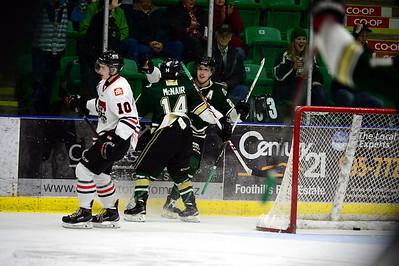 Whitecourt Wolverines @ Okotoks Oilers Feb 7 2015