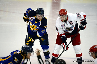 Brooks Bandits vs Fort McMurray Oil Barons Sept 28 2012