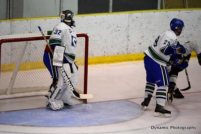 Calgary Canucks vs Bonnyville Pontiacs Sept 28 2012
