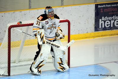 Calgary Canucks vs Grande Prairie Storm Sept 29 2012