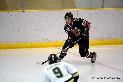 Okotoks Oilers vs Lloydminster Bobcats Sept 28 2012