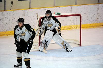 Ft McMurray Oil Barons vs Okotoks Oilers Oct 1 2010