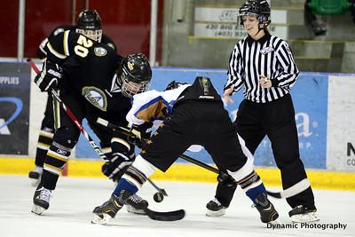 Foothills Bisons Midget AA @ Okotoks Oilers Midget AA Feb 7 2013