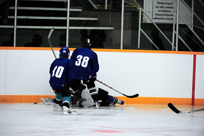 Foothills Bisons PeeWee Tryout Camp Sept 11 2010