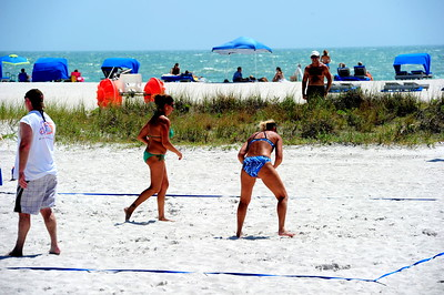 Florida Beach Volleyball Tournament May 1 2010