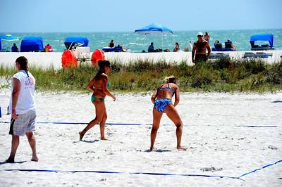 Florida Beach Volleyball Tournament May 1 2010