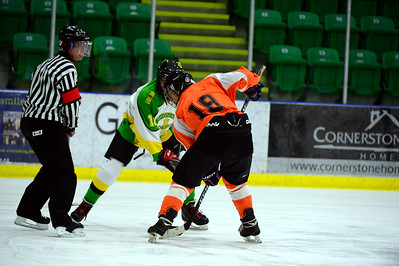Foothills Flyers Midget 2 vs Okotoks Oilers Oct 19 2014
