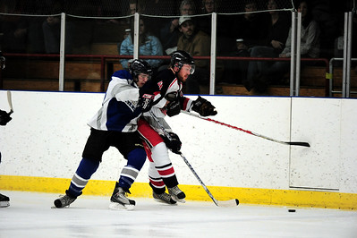 High River Flyers vs Okotoks Bisons Jan 21 2011