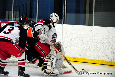 High River Flyers vs Okotoks Bison Jan 21 2012