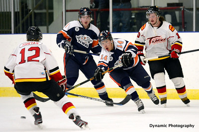 High River Flyers vs Airdrie Thunder Nov 9 2012