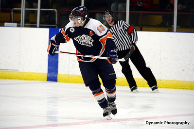 High River Flyers vs Coaldale Copperheads Jan 18 2013