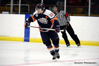 High River Flyers vs Coaldale Copperheads Jan 18 2013