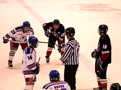 Calgary Buffaloes vs Lethbridge Hurricanes Dec 28 2009