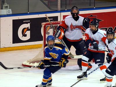 Leduc Oil Kings vs Saskatoon Blazers Dec 28 2009