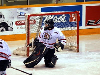 UFA Bisons vs Red Deer Rebels Dec 30 2009