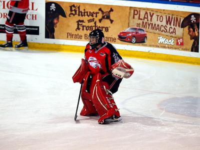 UFA Bisons vs Red Deer Rebels Dec 31 2009
