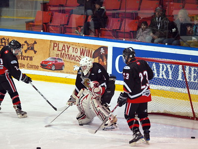 Vancouver NW Giants vs Cariboo Cougars Dec 31 2009